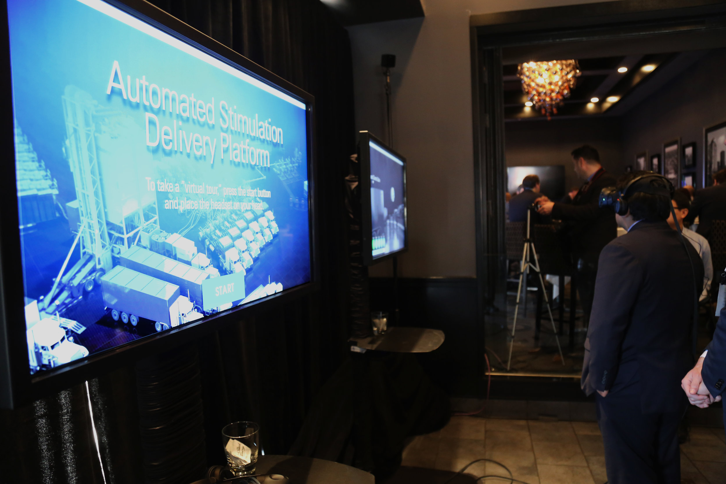 VR for Schlumberger during HFTC in The Woodlands