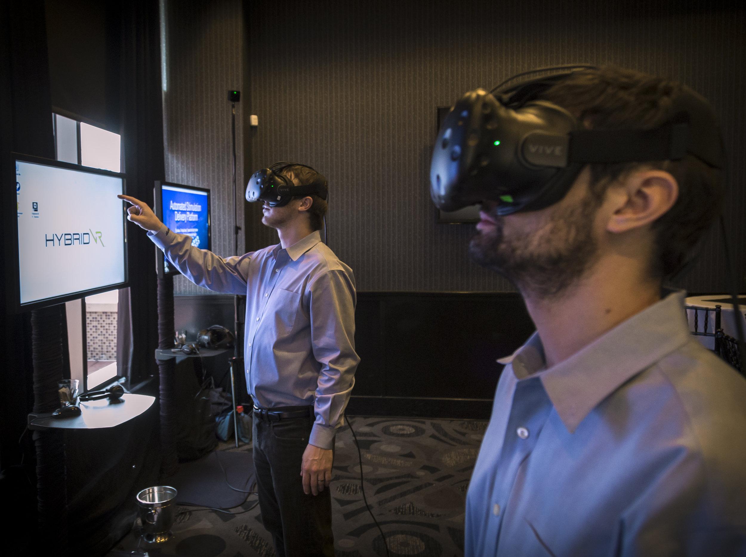 VR Techs testing