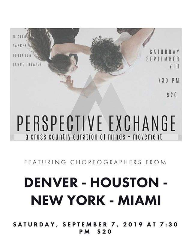8 DAYS away!!! Denver peeps get yo tickets now. 🙌🏾✨ http://jjboe.com/perspectiveexchange . #dance #dancer #dancing #performance #denver #colorado #thingstodo @kachmielewski @jgrammm @jkco.dance @alisgotmoxie @emily_jo52 @acbearclaire @bruess