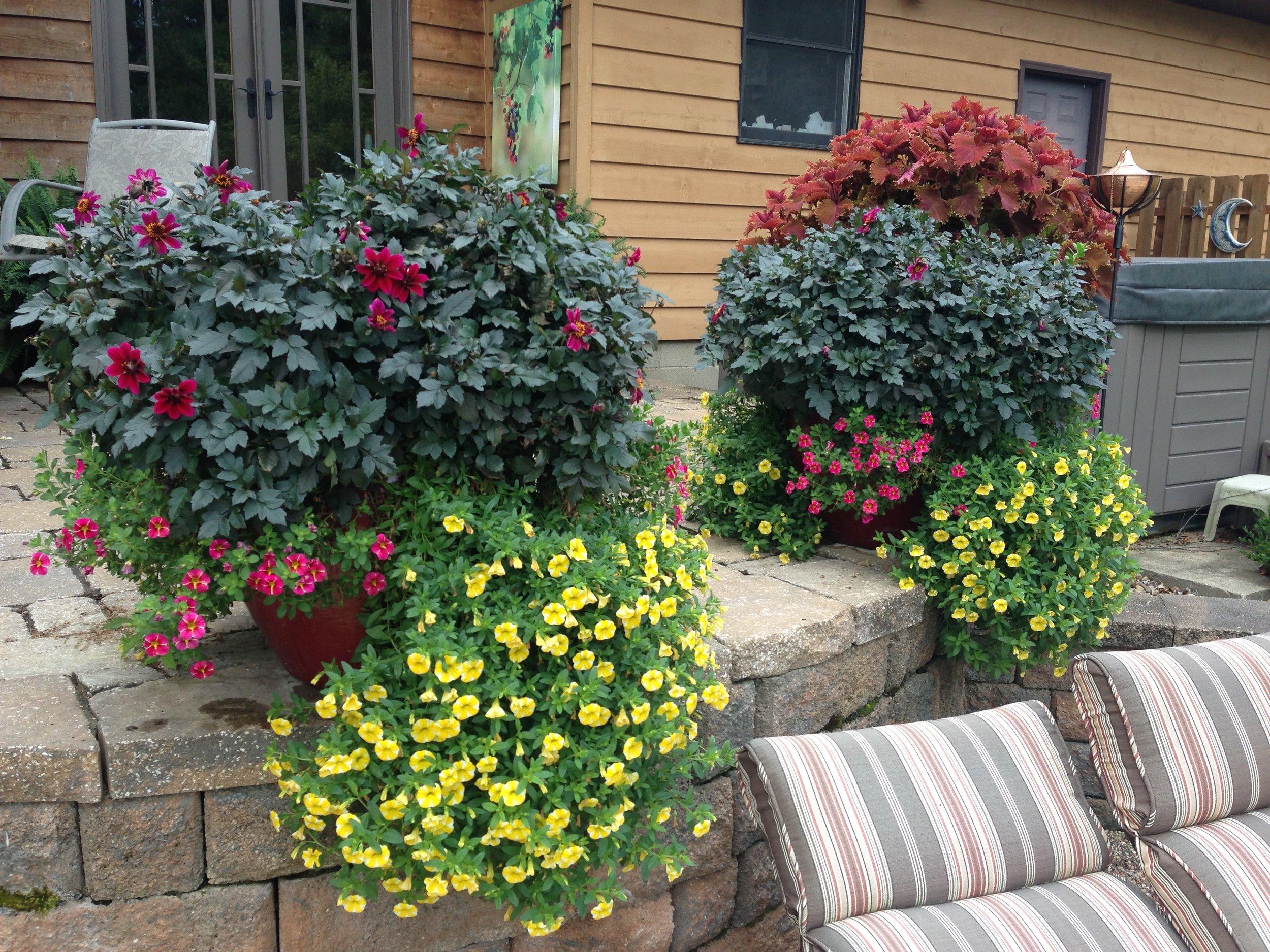 Custom planter by Changing Seasons
