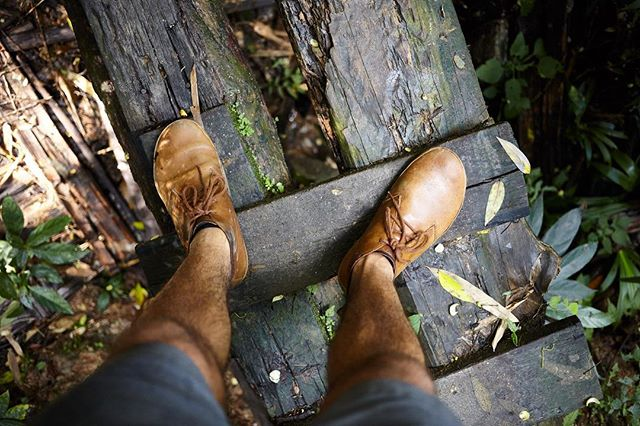 These shoes have gone many wonderful places with me - from American deserts, mountains and cities, to Thai rainforests.  @vivobarefoot