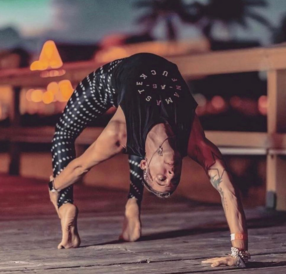 """Felix Rodriguez, Photographer & Yoga Teacher - Whats up beautiful bitches its Feelo! I am a yoga teacher, content creator, super dork and I am fucking pumped to join such a babe squad and capture all of you embracing the magic of Tulum and the bad ass vibes of Namaste As Fuck 💯 So many people ask me what the fuck Namaste means…and to so many people it means so many things!To me, this company is about embracing the realness that is you, seeing it in others and accepting all of it. I see you all out there strutting your stuff, then acting all shy and insecure in front of the camera, just be you! Let me show you through my eyes, just how fucking awesome you are!This retreat is going to be absolutely magical ⚡️and I can't wait to share it with all of you. Let's break the fucking gram with our sexiness!!! (Queue """"I'm bringing sexy back"""") 🕺💃You can check out some of Felix's awesome work on his website, feelo.life."""
