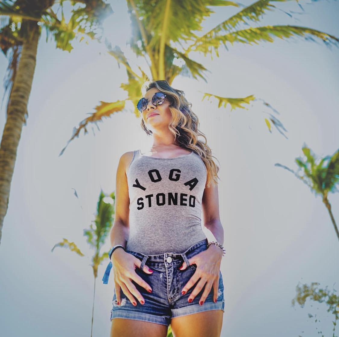 yoga stoned bodysuit