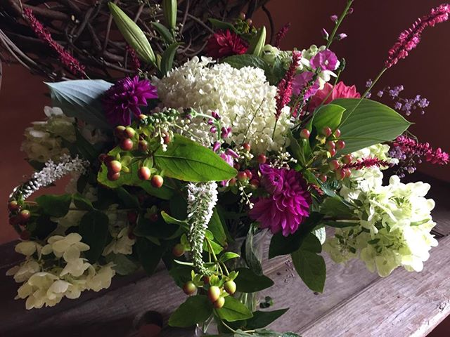 Fletcher Bay Gardens bouquet!! This could be yours. Check out fletcherbaygardens. com and sign up for our bouquet subscription. #bouquets #subscriptions