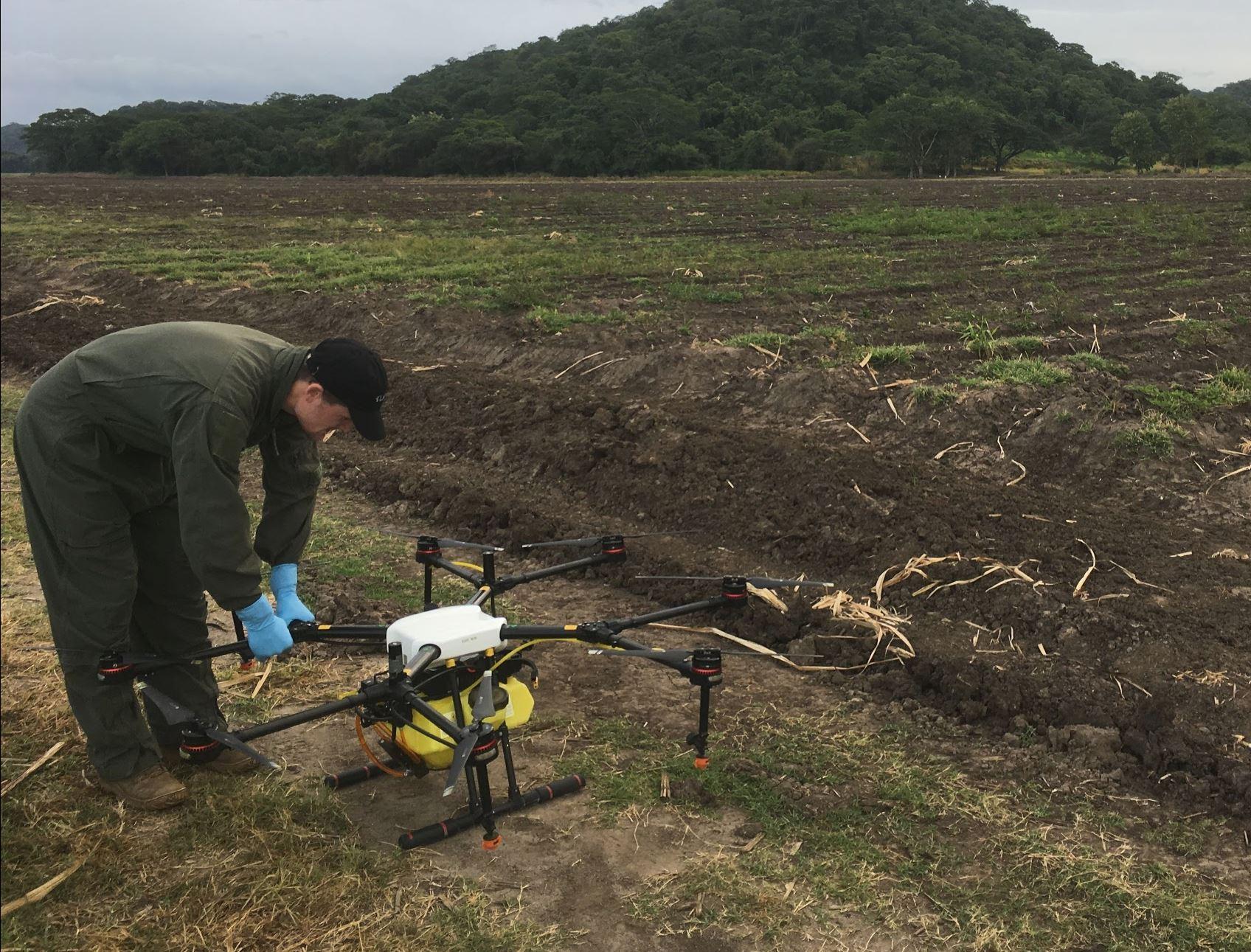PREPARACIÓN del drone