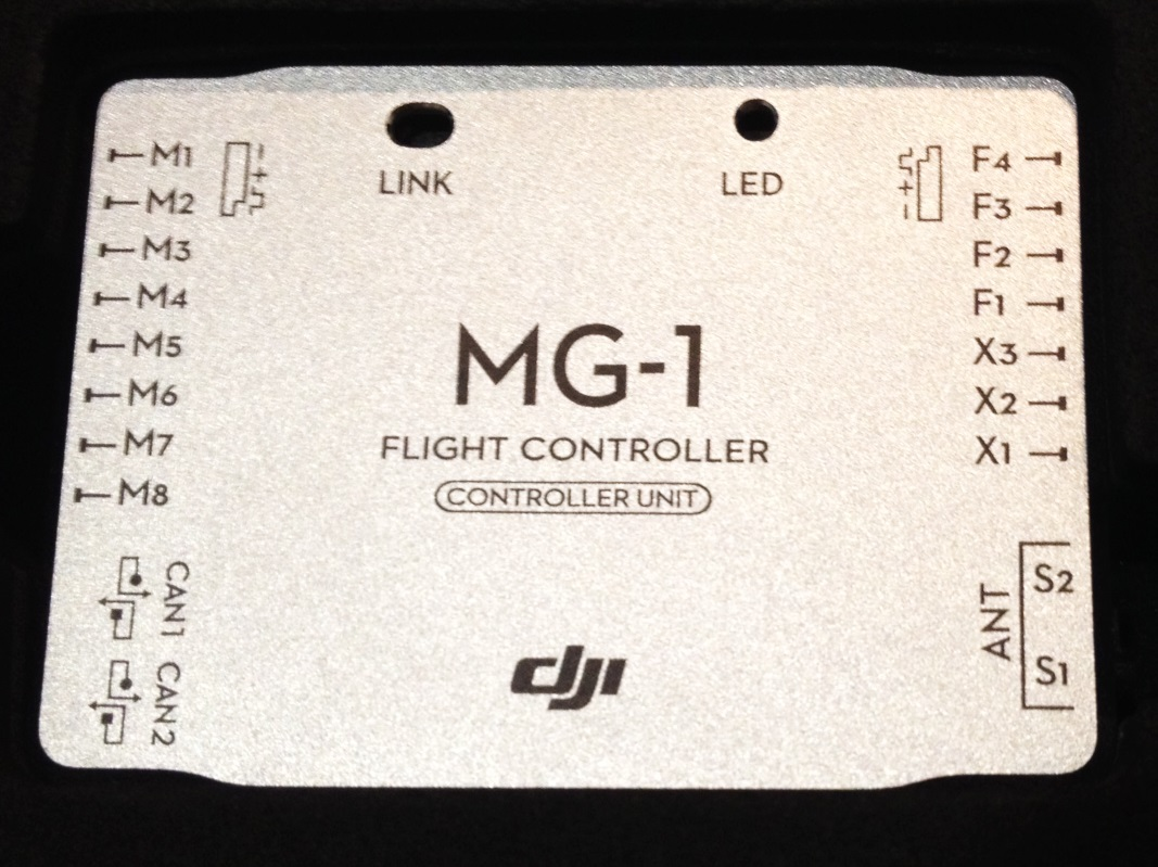 AGRAS MG 1 PART 08 MAIN CONTROLLER