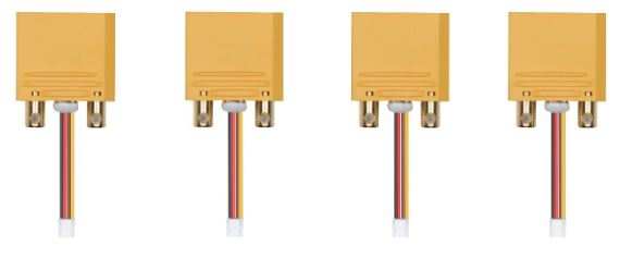 AGRAS MG 1S PART 12 SPECIFIED XT100-L CONNECTOR (FOR AIRCRAFT)