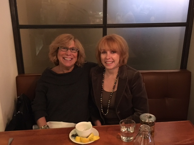 """""""Heavy"""" Marcia  and  Lovely Rita have lunch…Oh wow!"""