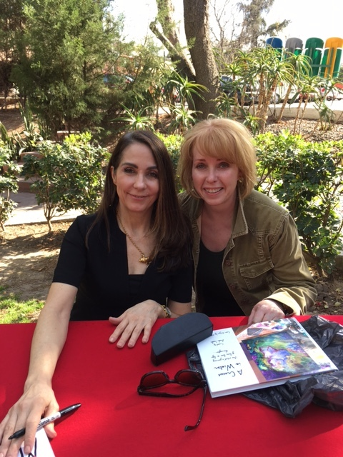 Mary Karr with Rita Dragonette