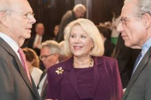 With Justice Breyer and Bob Woodward