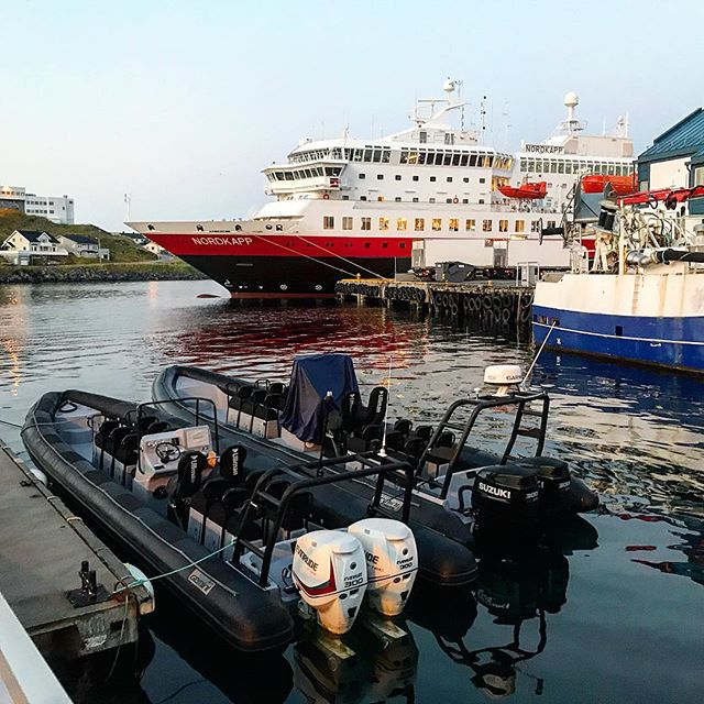 Various boat life in the small Norwegian harbor #visitnorway #rib #hurtigruten #northcape #travelblogger #TheTravelInspector