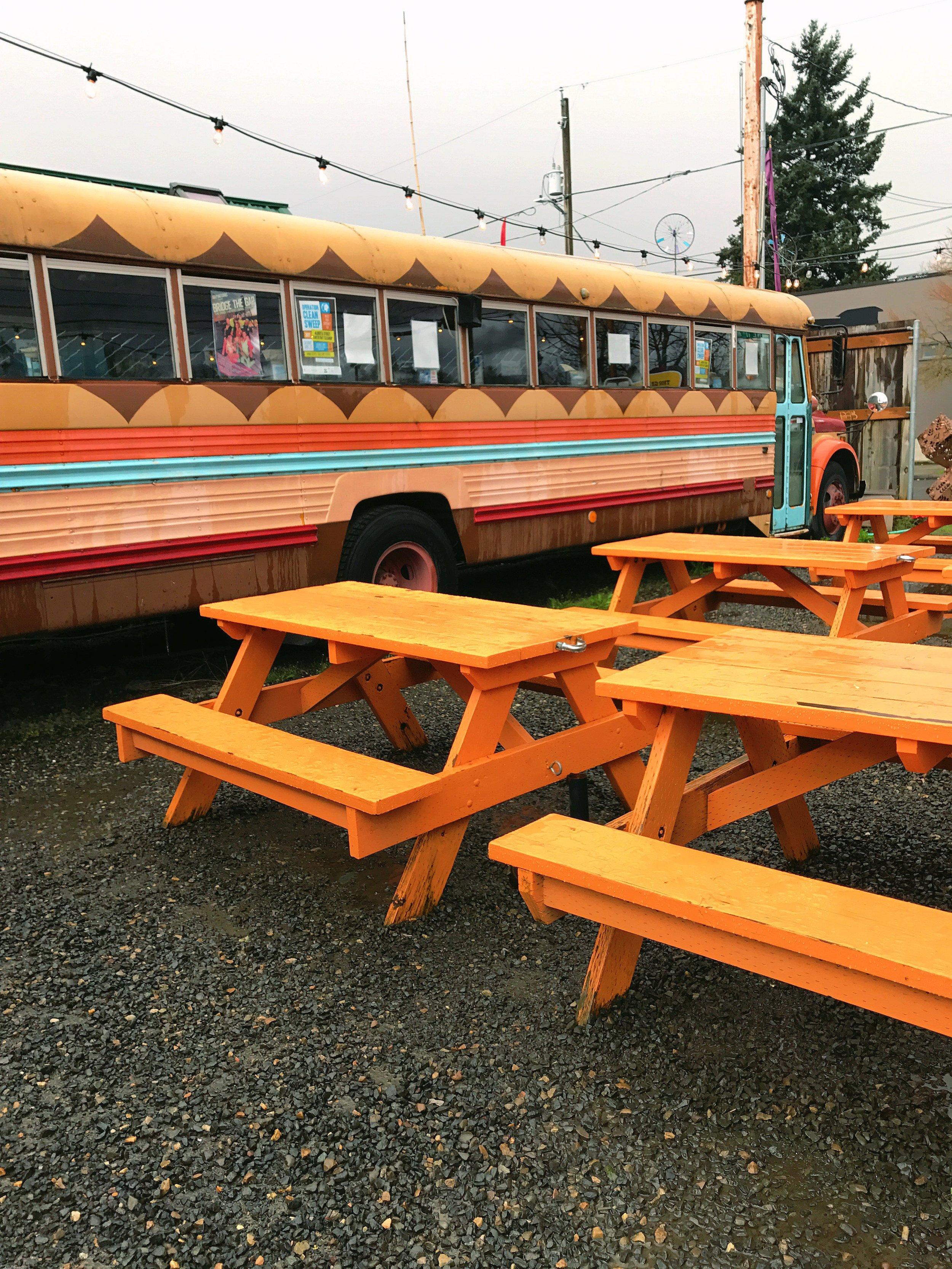 Food Truck on Alberta Street
