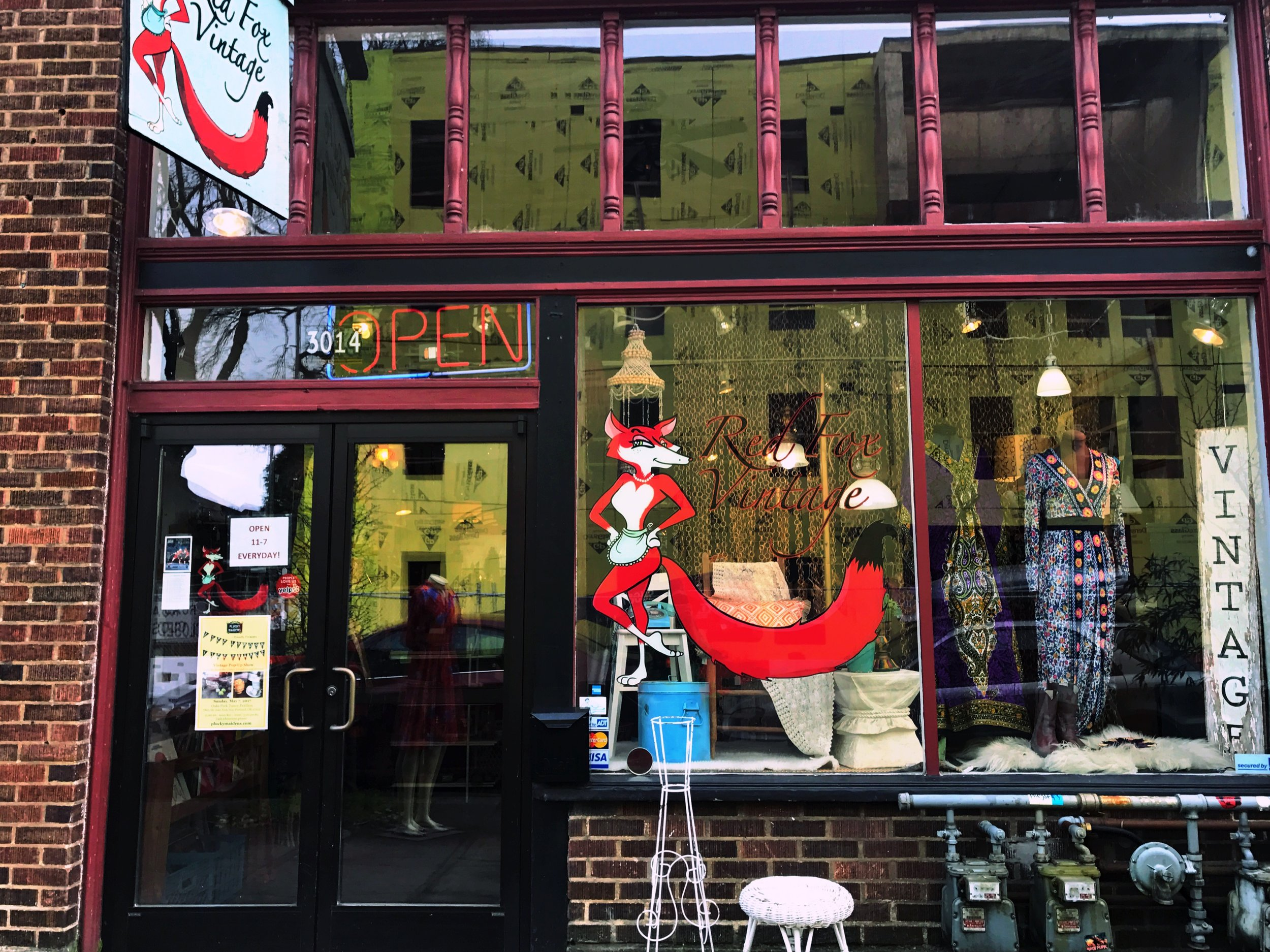 Red Fox Vintage | 3014 N.E Killingsworth Portland