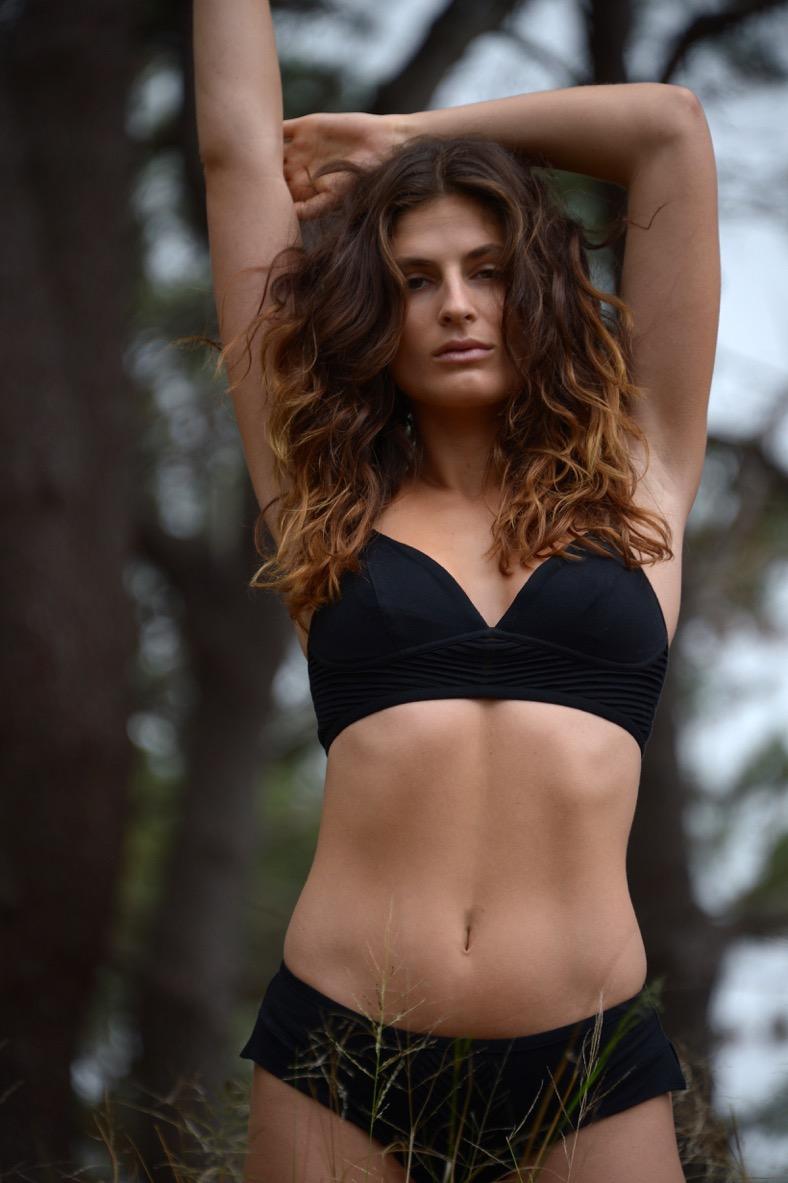 the zero waste bra