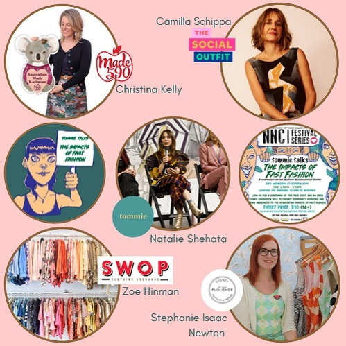 🎤🎟🎞In less than 2 weeks time we will be hosting, in collaboration with Newtown Festival, a special tommie + NNC @newtowncentre Festival series called, 'tommie talks: the impacts of fast fashion'. For those of you who don't know, Newtown Festival attracts 40,000 plus people to the event every year, the festival takes place to not only celebrate the wonderful, diverse and colourful community of Newtown - but ultimately to raise funds for the NNC. In the lead up to festival day, there are side events through the months of October + November that celebrate Newtown's community values of inclusivity, sustainability and visibility for all people. These values are ones we too adopt here at tommie, which is why we were so thrilled to be able to take part in this co-hosted event to help give back and support the incredible work of the NNC and shine a light on how we all have the power to make change together through connection and education.  We're so thrilled to announce our very special panellists who will joining us at the 'tommie talks' event night, who are kindly volunteering their time on this intimate panel about how they do fashion business and the solutions we can carry out every day to become a more inclusive, accessible and environmentally friendly industry.  Joining us on the night is Christina Kelly - @made590, Camilla Schippa @thesocialoutfit, Zoe Hinman @_swop, Stephanie Isaaac Newton @pubtextiles and our moderator/Mc for the night will be tommie founder, editor + eco stylist Natalie Shehata @nattystylist.  Tickets are a flat $10, 💯% of tickets sale go back to @newtowncentre.  Please come along to support local community and learn how we can make a difference with our purchasing behaviour - whilst also listening to some incredible Women changing the landscape of fashion! • • • • #ethicalfashion #consciousfashion #sustainablefashion #slowfashion #sustainability #vintagestyle #preloved #secondhand #madeinaustralia #indigenousfashion #madebywomen #sydneyevents #sh