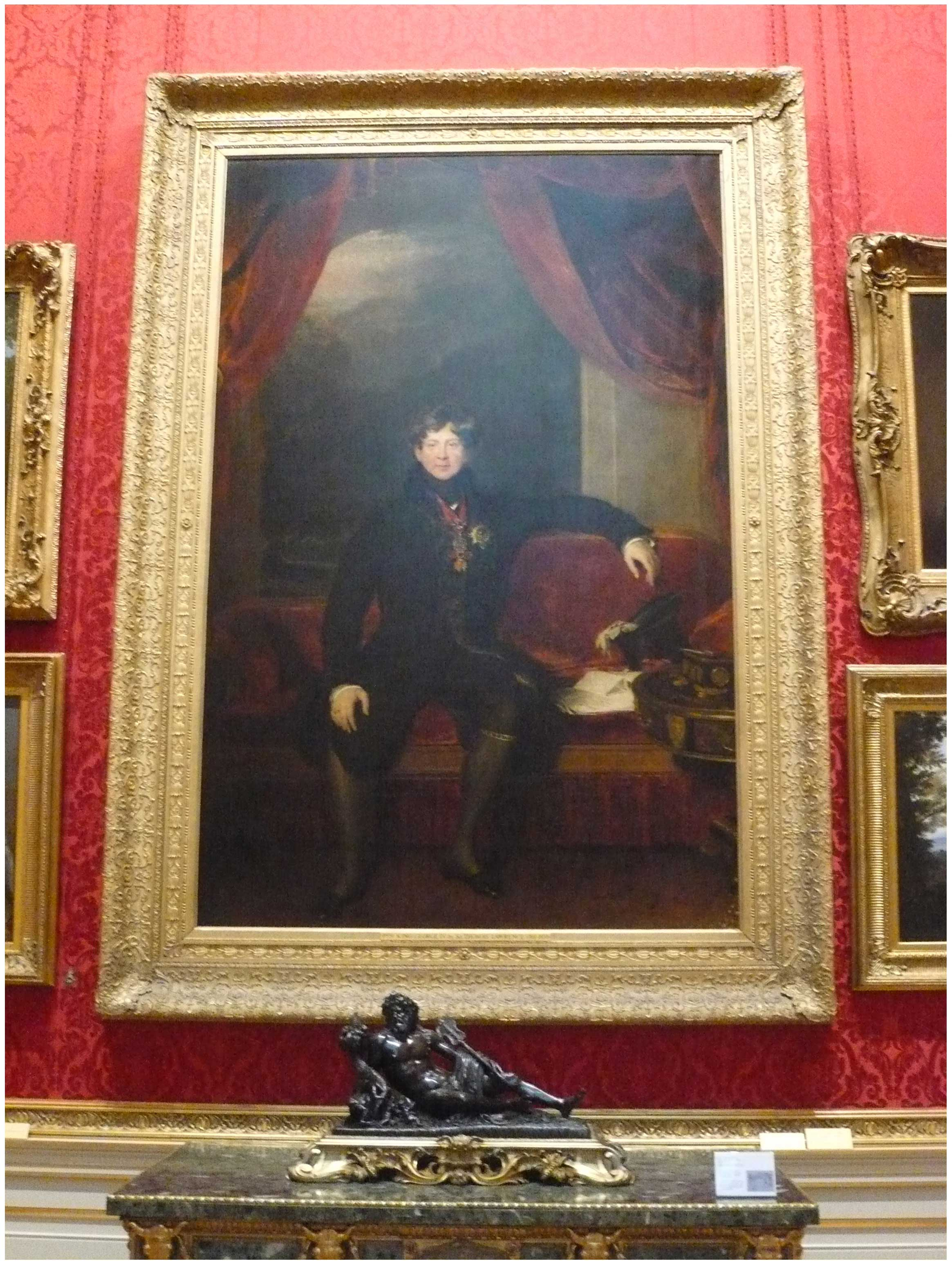 Sir Thomas Lawrence (1769 – 1830)  George IV,  1822  Courtesy of the Trustees of The Wallace Collection, London