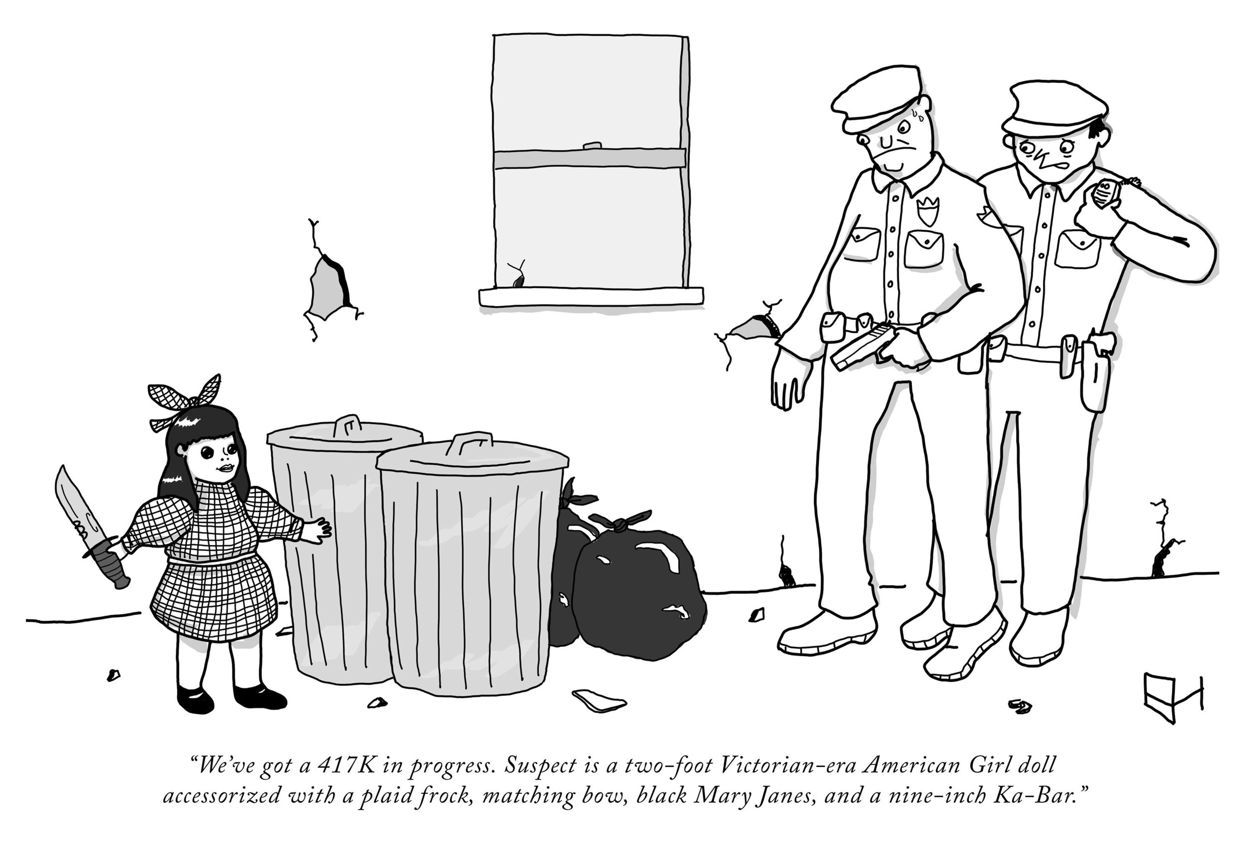 Image credit: Emma Hunsinger/The New Yorker Collection/The Cartoon Bank