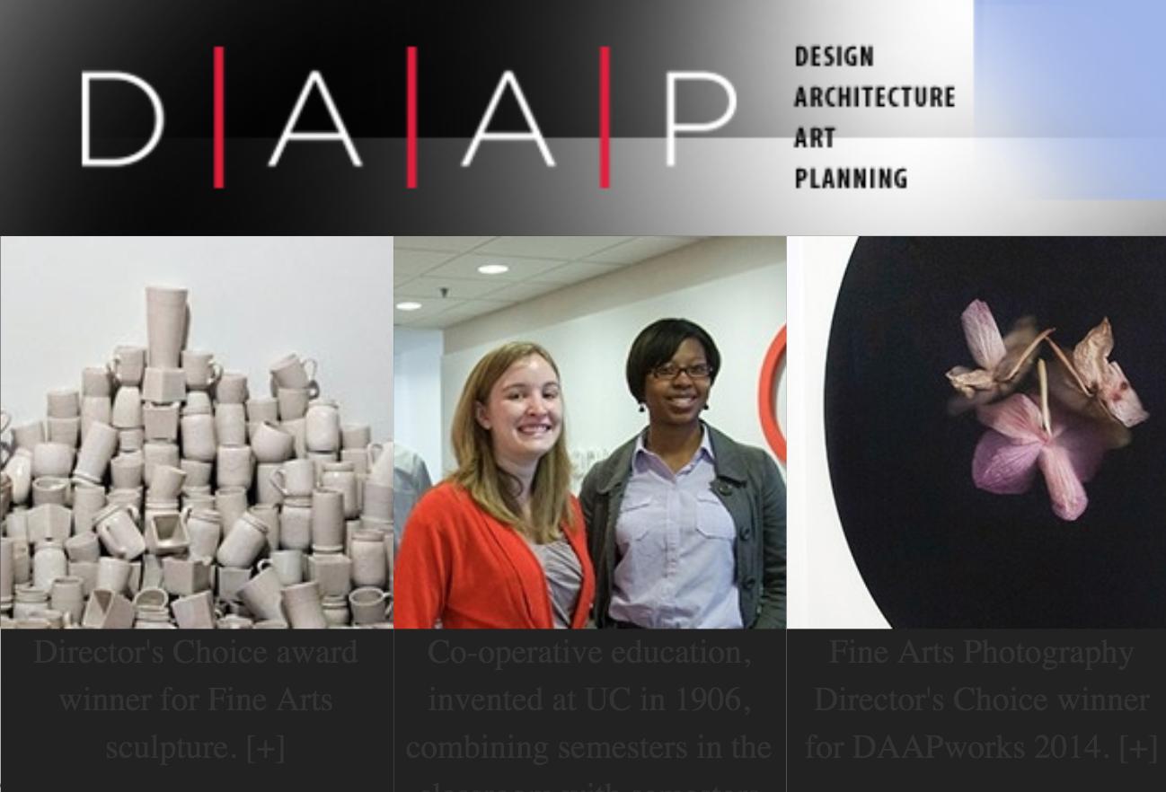 DAAP Website - Click here to go to the DAAP website.