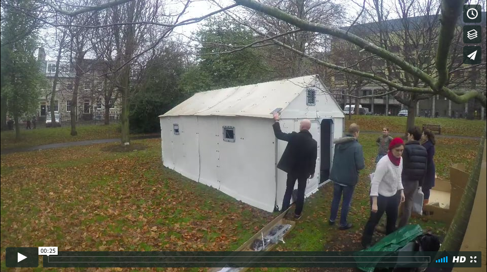 Better Shelter Raising -- Edinburgh