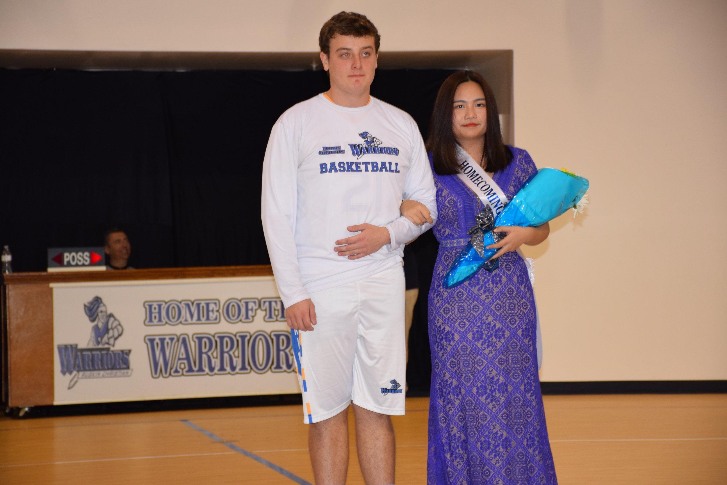 Joel Keating & Angilya Wang -Homecoming Court