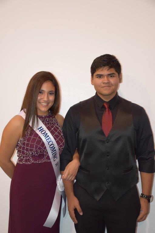 Melanie Rodriguez & Victor Guerrero - 9th Grade Representatives