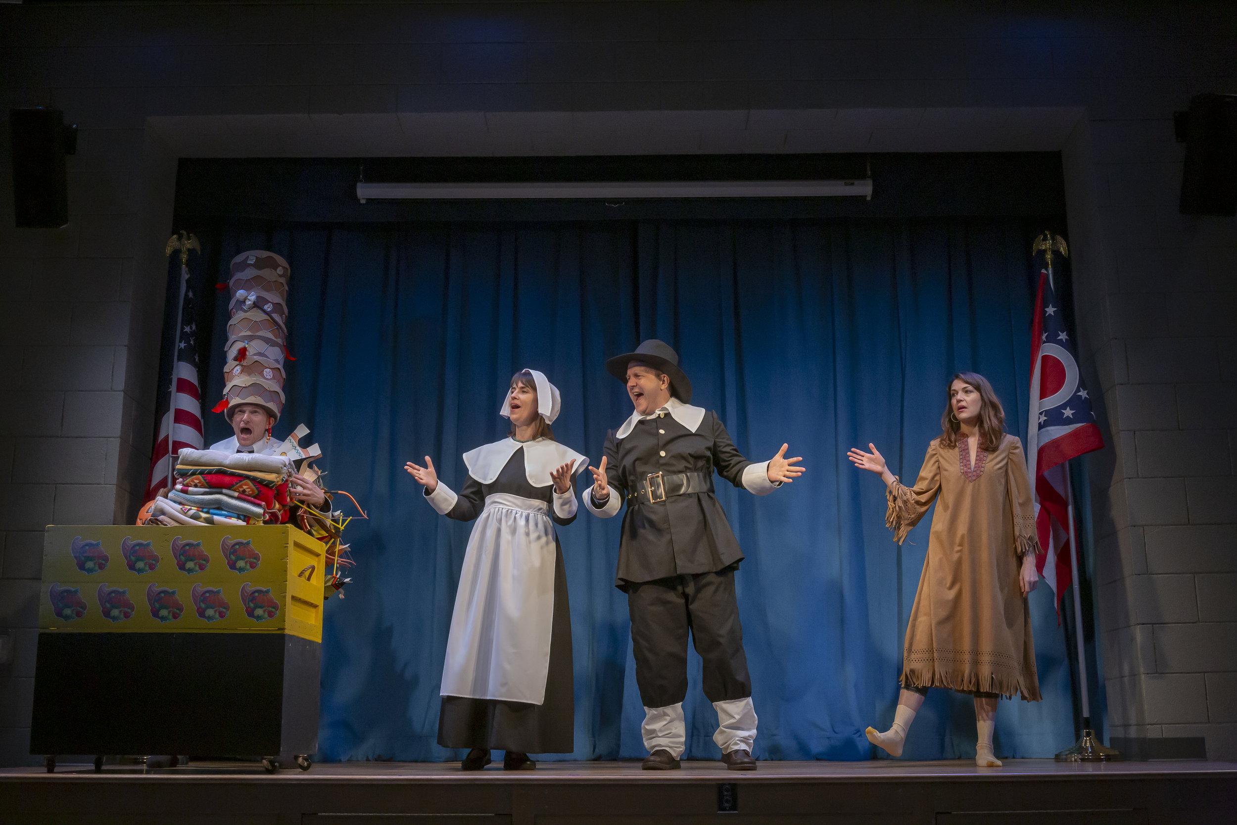 The Thanksgiving Play, Cincinnati Playhouse (Logan)