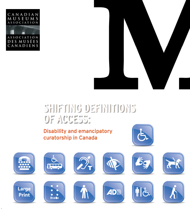 Cover of Muse Magazine: Shifting definitions of access is the feature and cover article