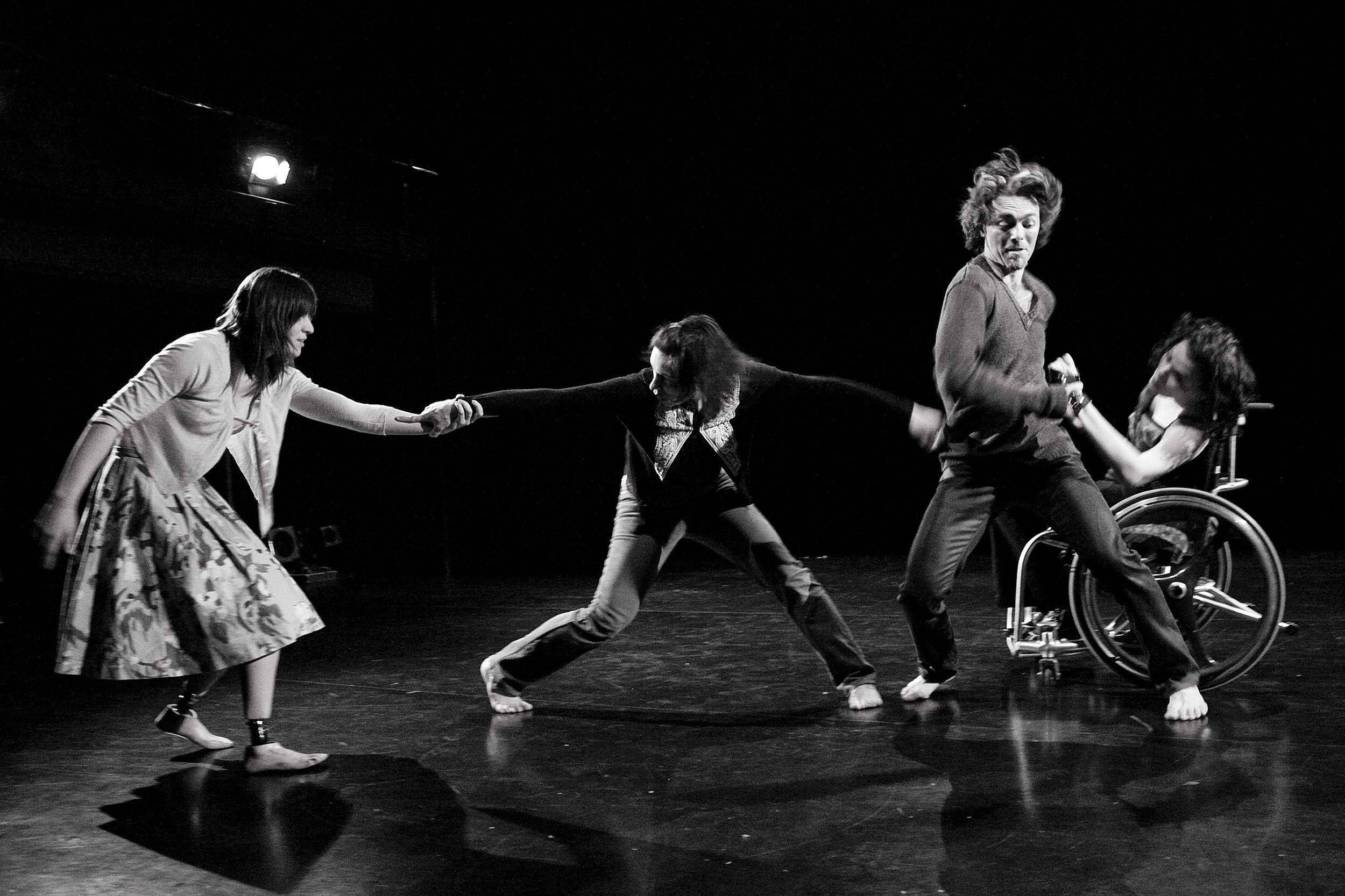 Photographer - Frédérick Duchesne, Choreographer -Estelle Clareton, Dancers- Marie-Hélène Bellavance, Annie De Pauw, Tom Casey, France Geoffroy