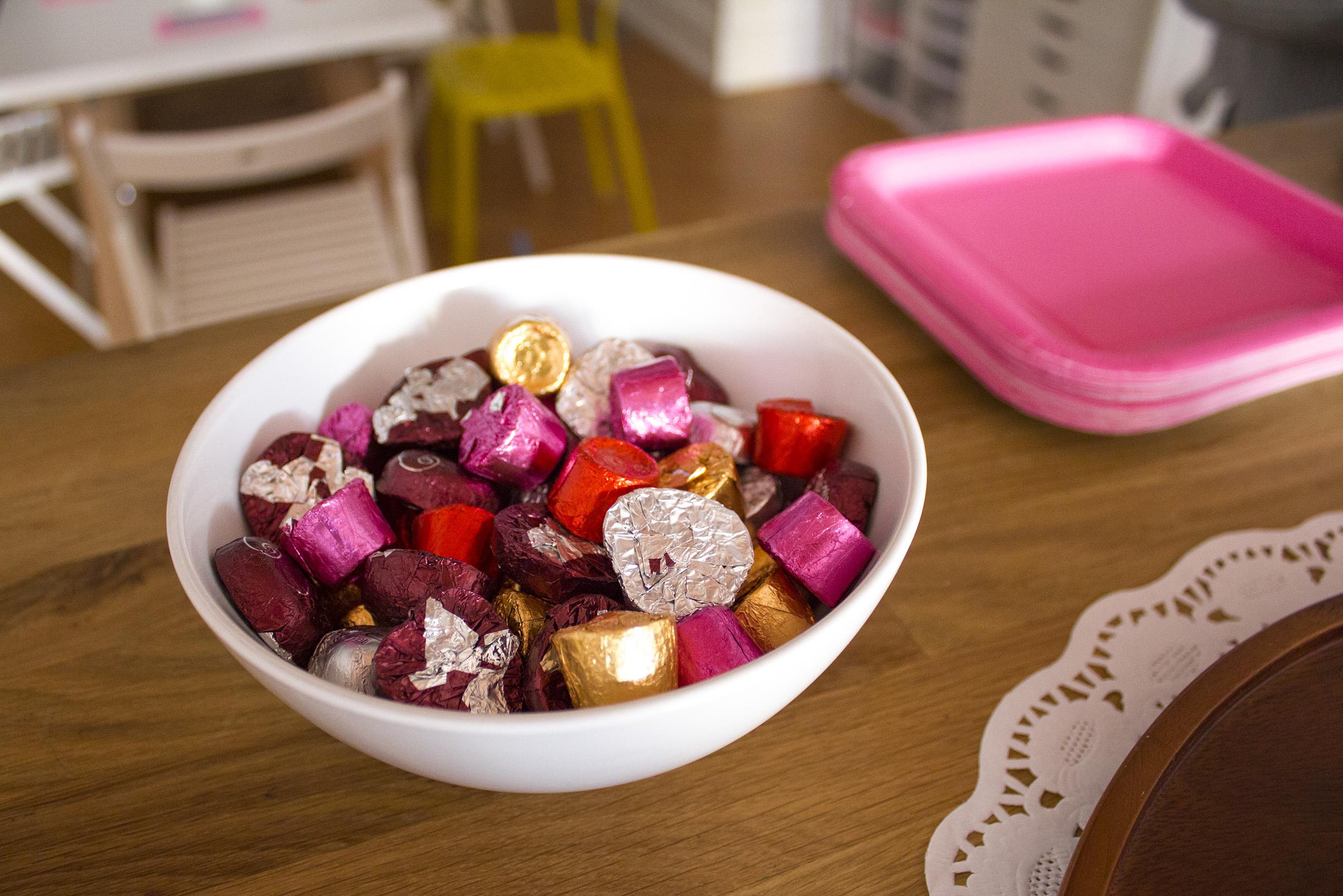 Red Velvet Dove chocolates. YUM!