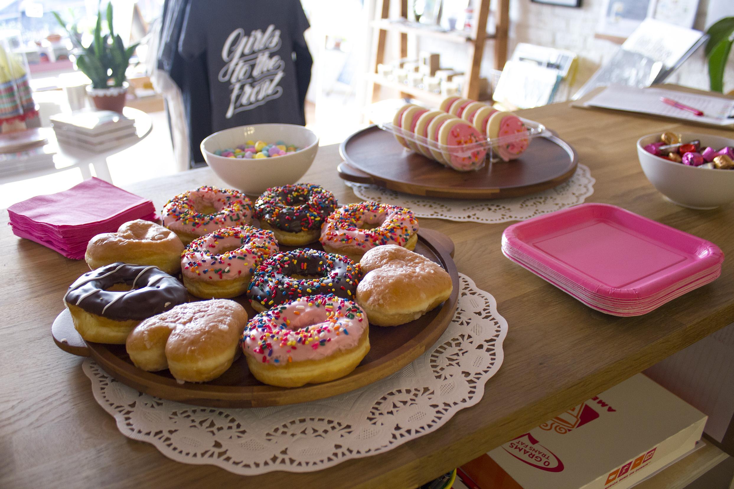 handzy valentines day workshop cincinnati covington treats donuts