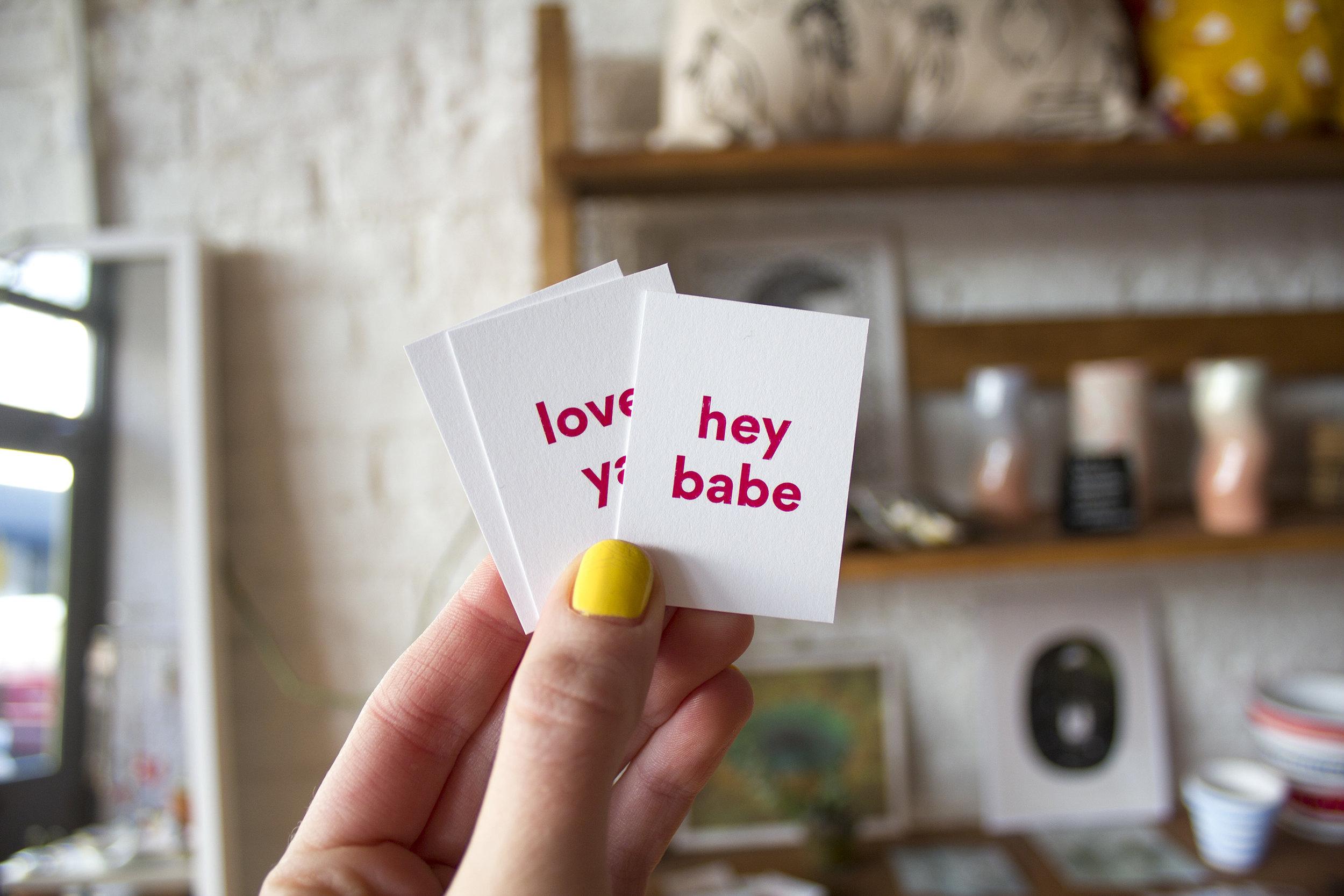 handzy valentines day workshop cincinnati covington hey babe