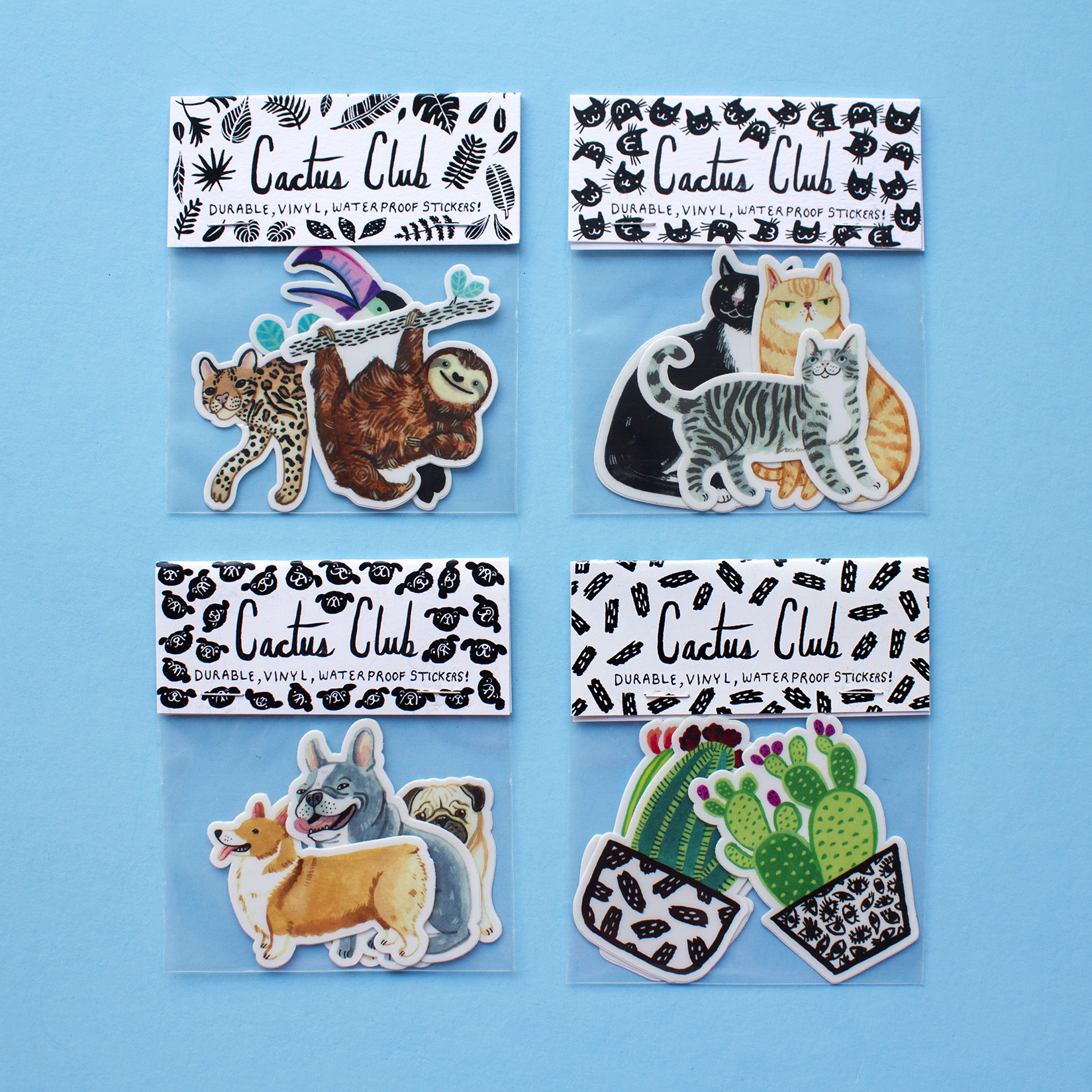 THE CUTEST STICKERS EVER! which one is your fave?