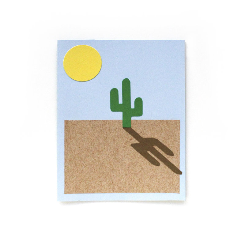 Sean and Suzy threw me a California Desert Party themed party for my birthday last year! This was my card from Sean.
