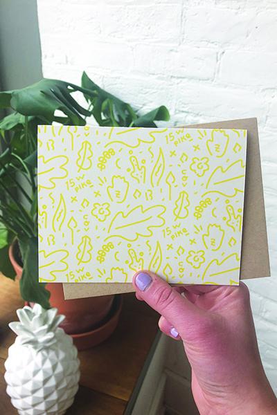Day 15: A handmade card for my dear Suzy :)