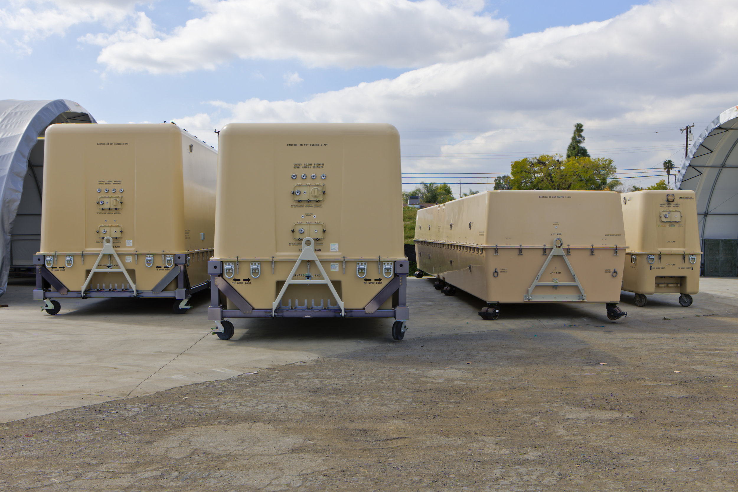 Unmanned Air Vehicle (UAV) Shipping & Storage Containers
