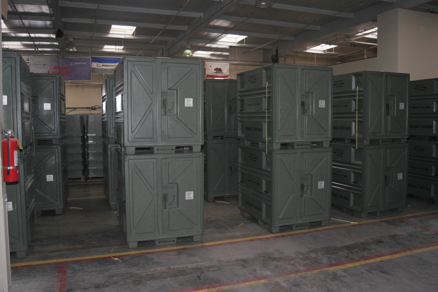 Pallet Container (PALCON) System