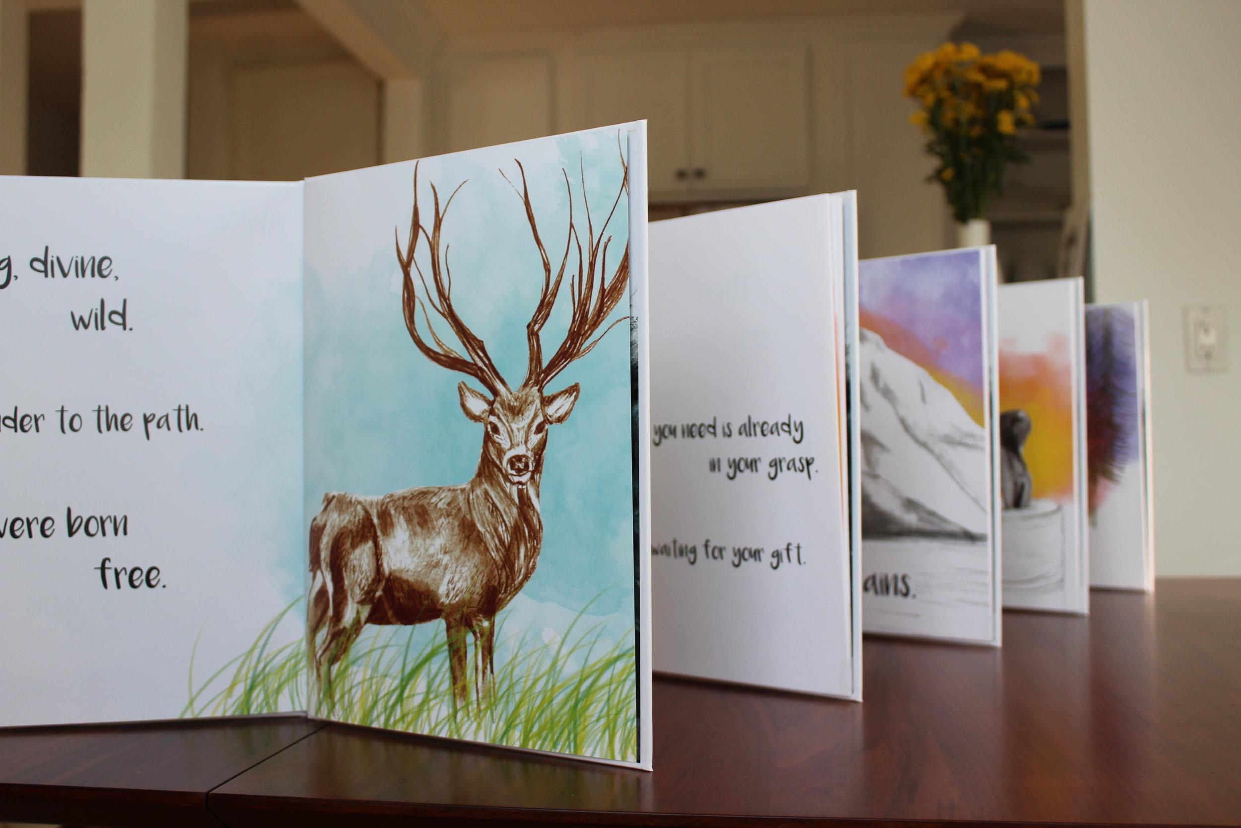 mountains-deer-amazing-flowers-unknown-a-book-about-mindfulness-stephen-wawryk-luna-maha-meditation-amazon-books
