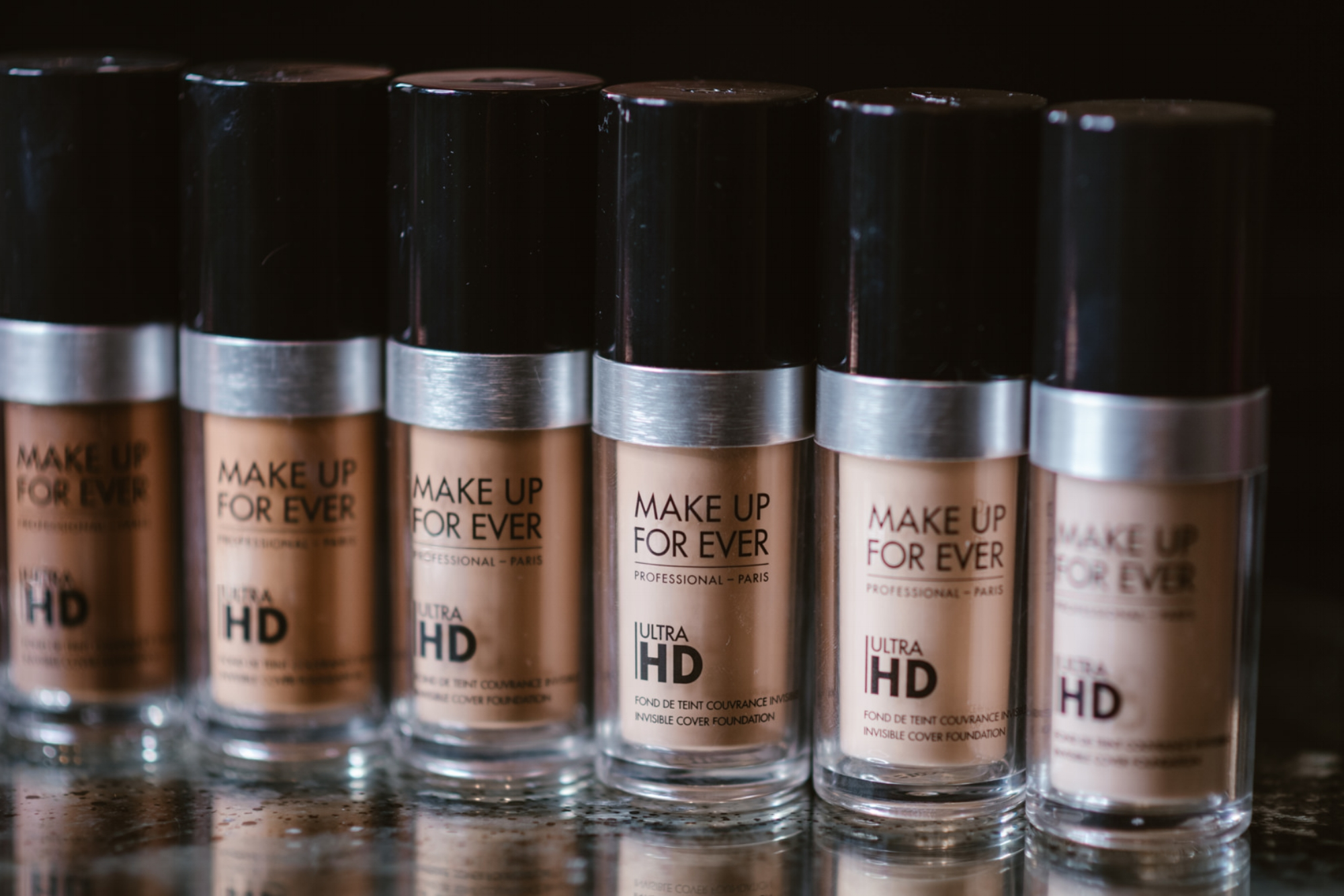 Make Up Forever Ultra HD Foundations