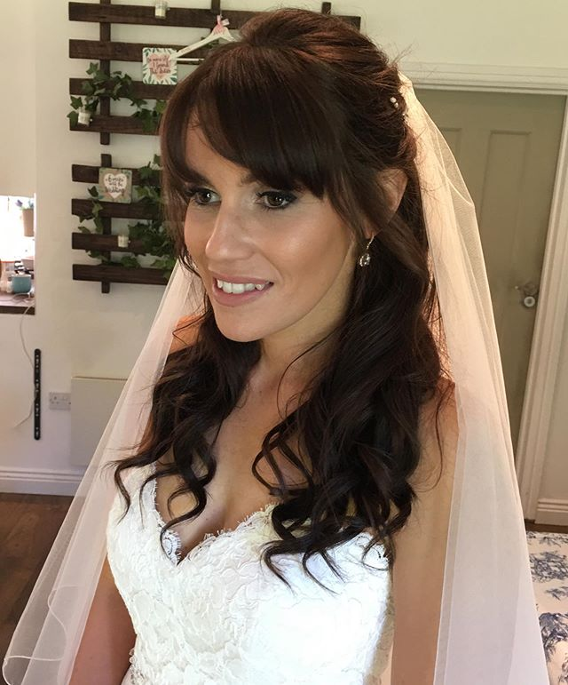 My beautiful bride this morning. Had the pleasure of making up a bridal party of 6 this morning in Chichester #bride #bridalmakeup #realbride #bridehairstyle #bridalhair #hair #makeup #bridalstyle #westsussexwedding #chichesterwedding #brideoftheday #motd #beauty #anastasiabeverlyhills #beautiful #hampshiremakeupartist