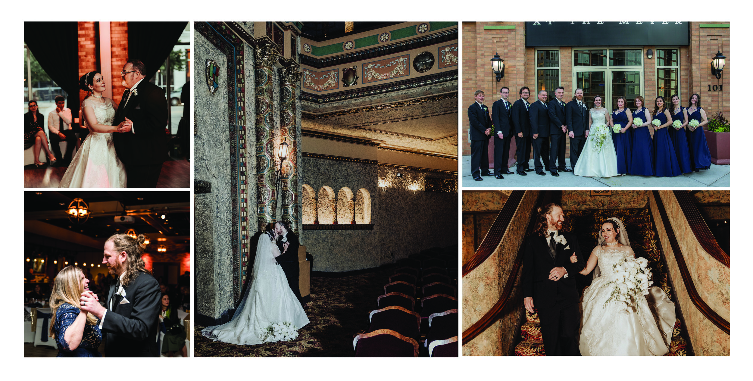 Backstage at the Meyer: Green Bay, WI Wedding