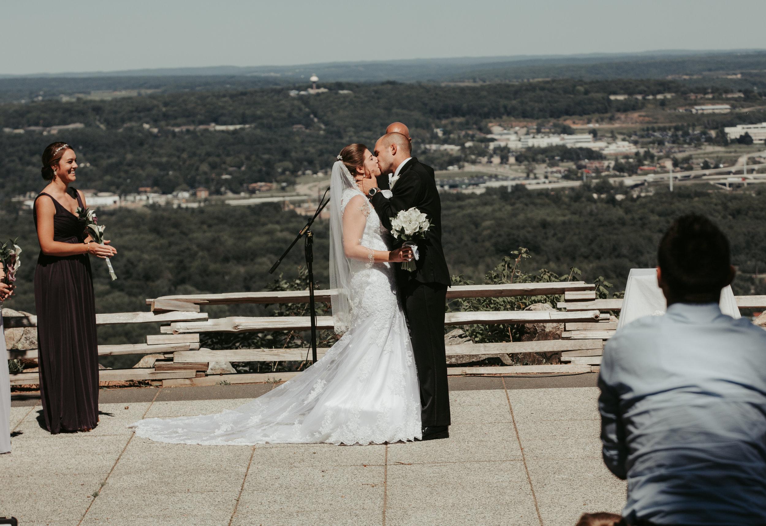 Rib Mountain State Park Wedding: Wausau, WI