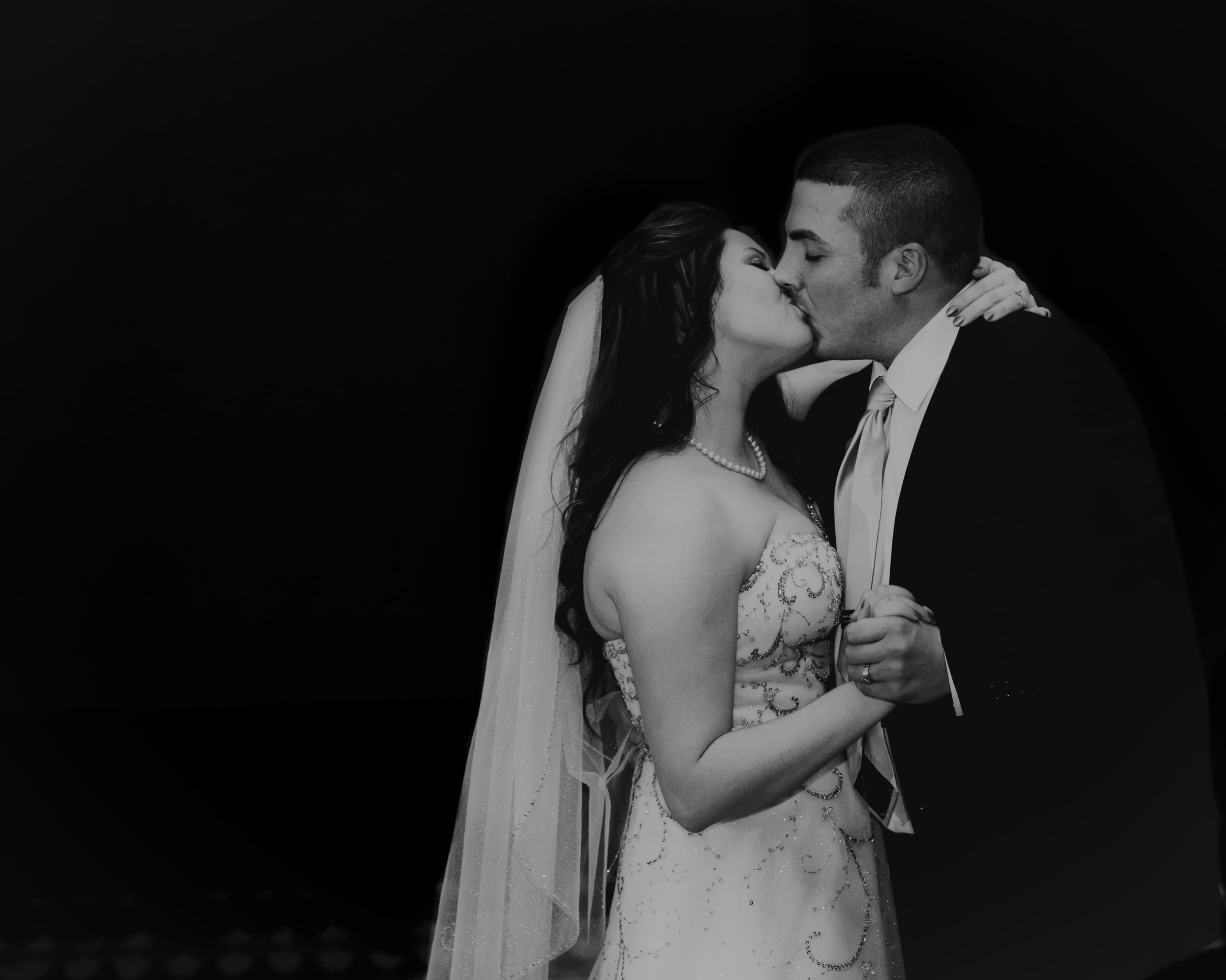First Dance Kiss: Hove Photography LLC