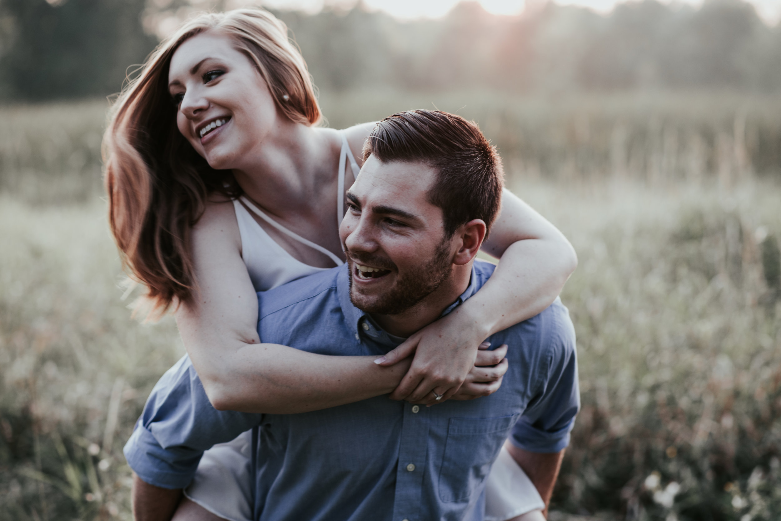 Golden Hour Engagement Session - Hove Photography LLC  International Wedding Photographer