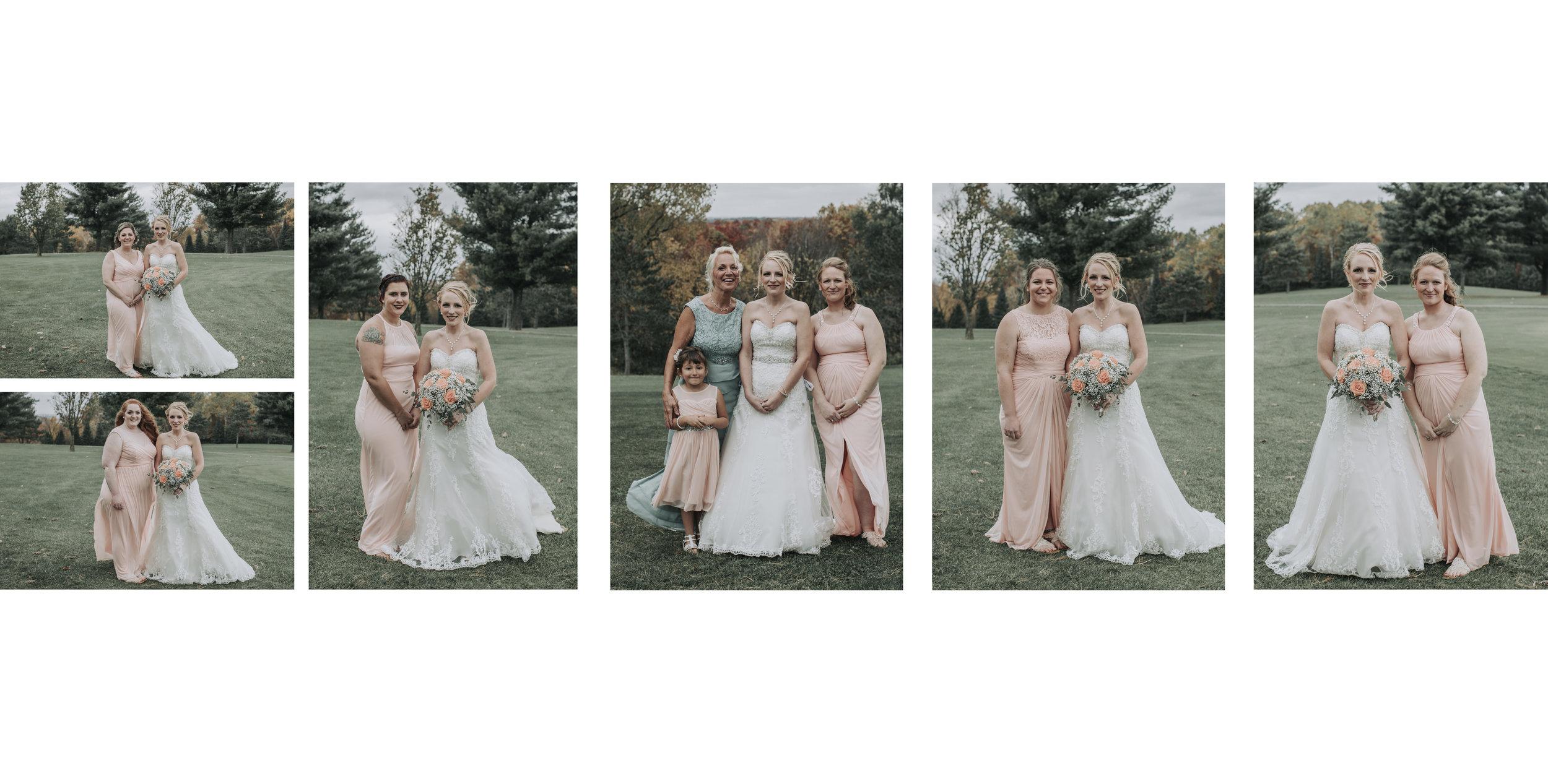 Bridesmaids - Hove Photography LLC