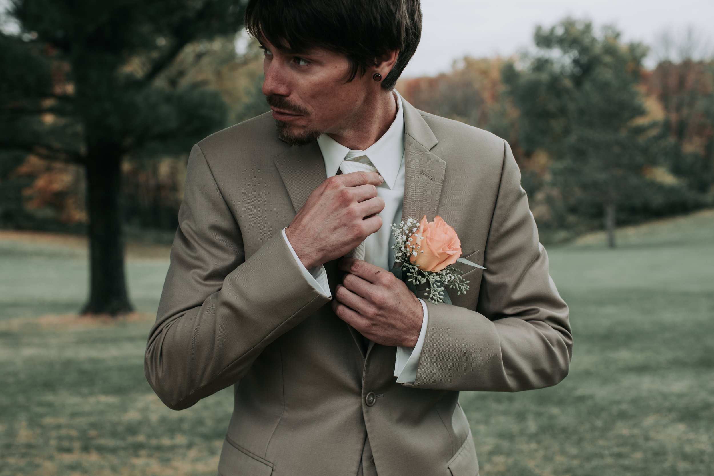 Groom Portraits - Hove Photography LLC