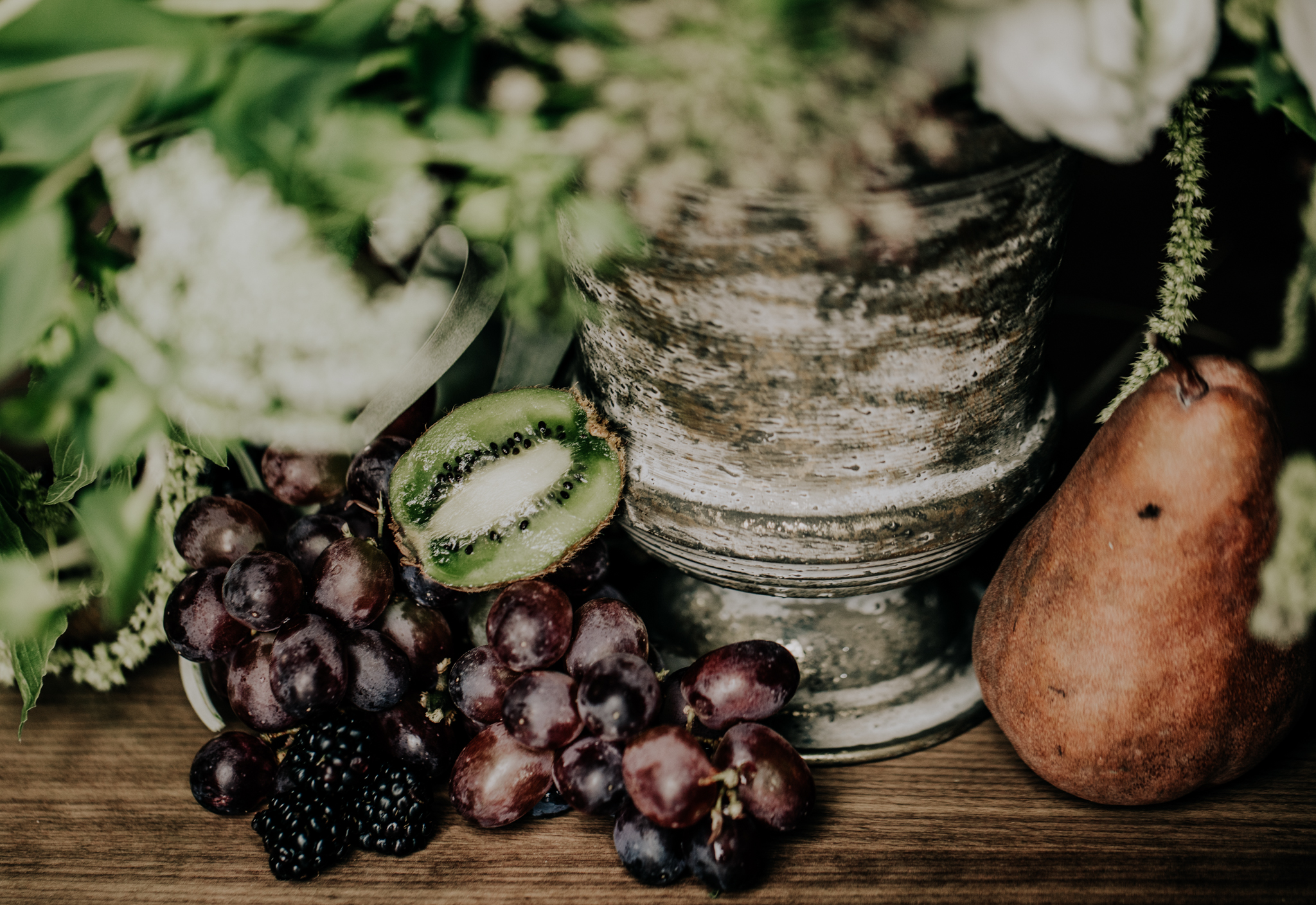 Fruit Wedding Decor - Midwestern Bride Styling - Hove Photography