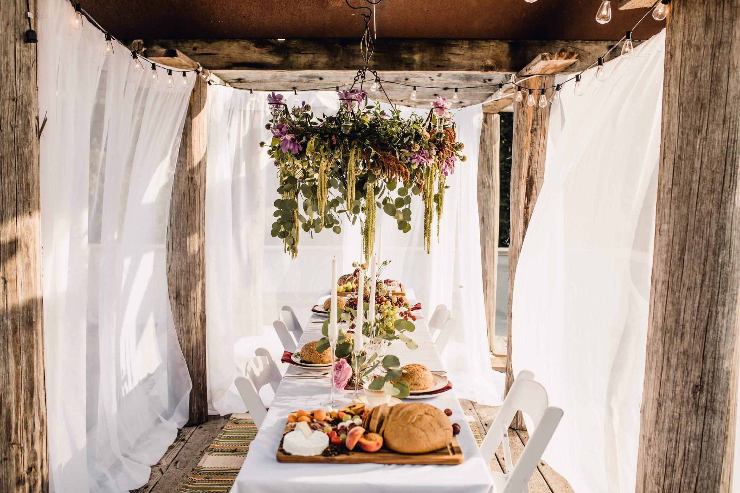 Moonlight Party Rentals, Jennifer Joyce Florals, Givens Farm