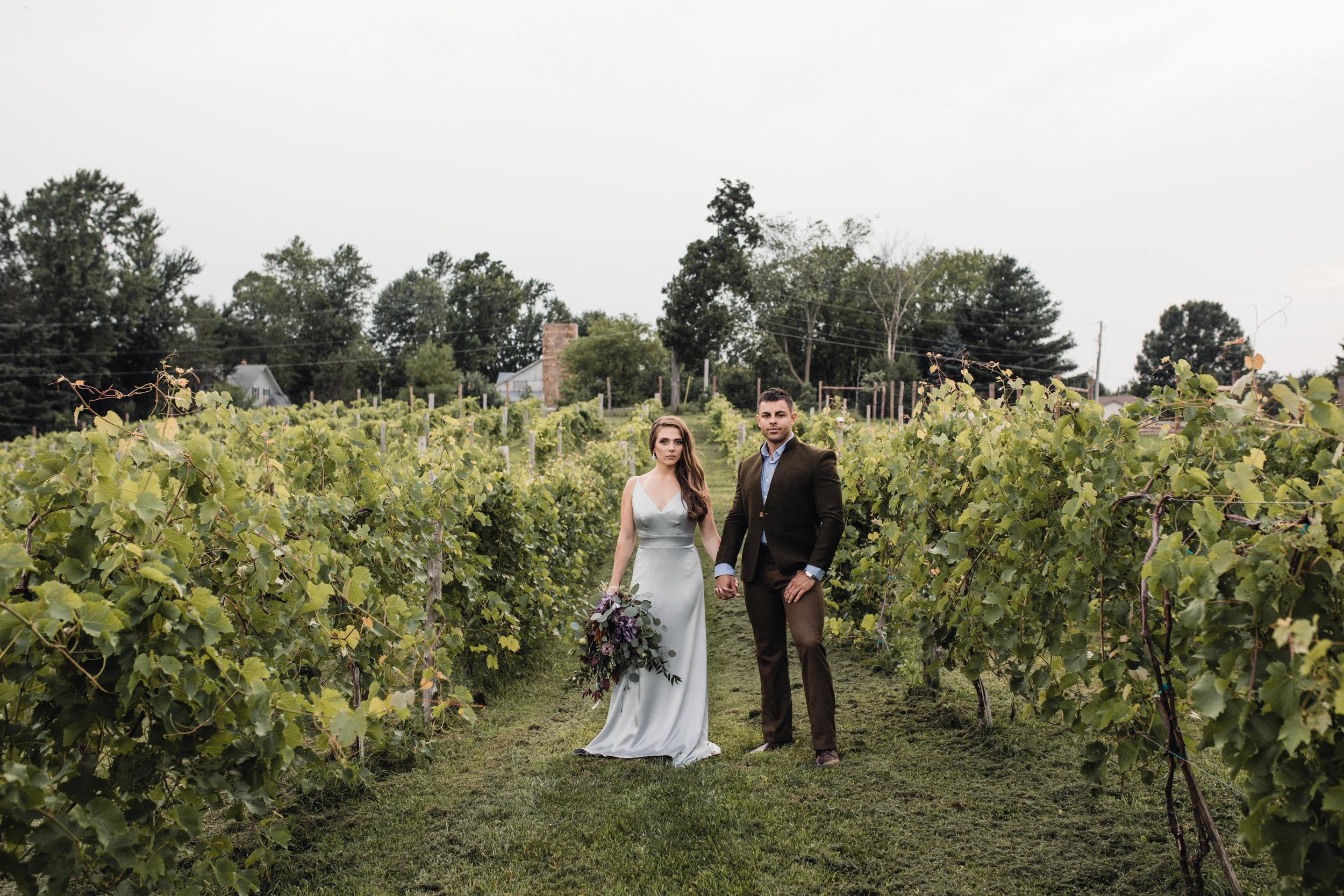 Vene AI Gown - Jennifer Joyce Florals - Givens Farm Vineyard