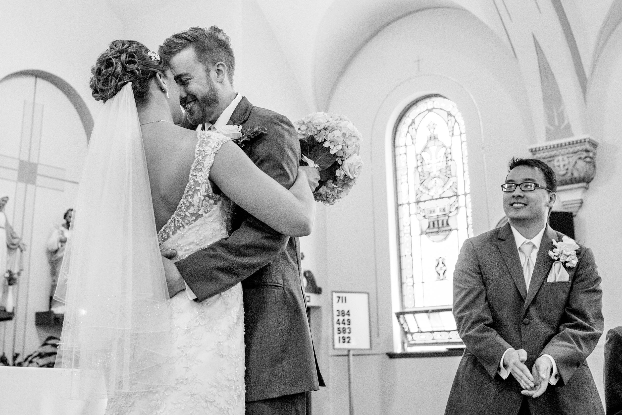 First Kiss - Wedding & Elopement Photographer - International Photographer