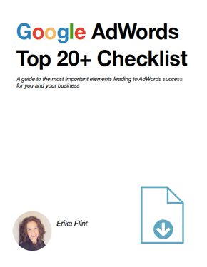 Adwords Top 20 + Checklist